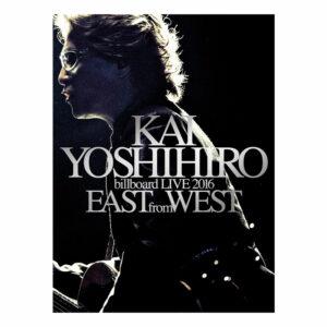 KAI YOSHIHIRO billboard LIVE 2016