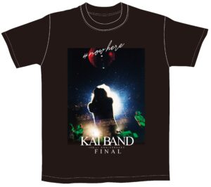 KAI BAND 45th+1 Anniversary FINAL Tシャツ(ブラック)