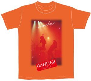 KAI BAND 45th+1 Anniversary FINAL Tシャツ(オレンジ)