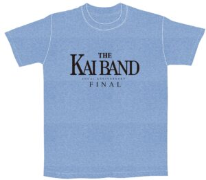 KAI BAND 45th+1 Anniversary FINAL ロゴTシャツ(ブルー)